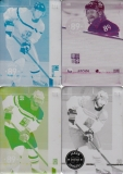 VORÁČEK Jakub CZECH Ice Hockey Team 2016 č. 49 Printing Plate SET 1/1