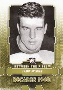 BRIMSEK Frank Between the Pipes 2012/2013 č. 173