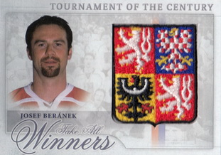 BERÁNEK Josef OFS Classic Tournament of the Century TCZ-7 Logo Patch /12