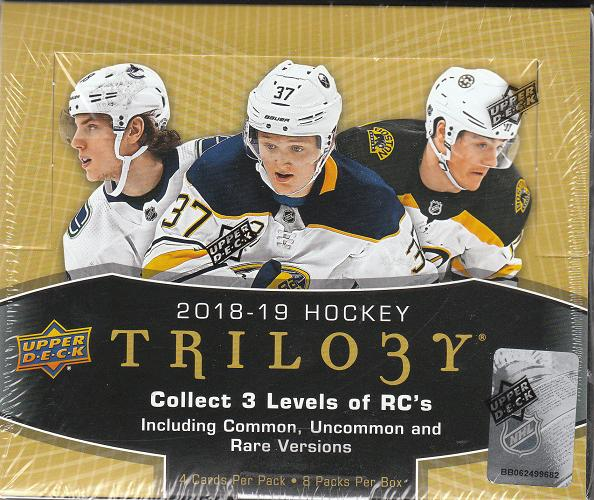 UD Trilogy 2018/2019 Hobby Box