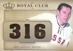"HAVEL ""Gusta"" Jan OFS ICEBOOK 2016 Royal Club č. 31 /20"