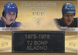KABERLE NELIBA OFS ICEBOOK 2016 Fragments of the Cup FOC-38 Platinum Rainbow 1/1