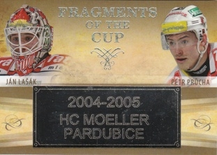 LAŠÁK PRŮCHA OFS ICEBOOK 2016 Fragments of the Cup FOC-67 Platinum Rainbow 1/1