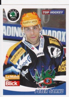 SARNO Peter Swiss Hockey Stickers 2007 č. 97