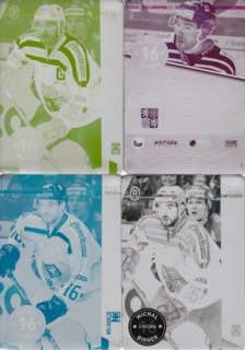BIRNER Michal CZECH Ice Hockey Team 2016 č. 1 Printing Plate SET 1/1