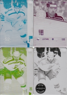 DOUDERA Milan CZECH Ice Hockey Team 2016 č. 4 Printing Plate SET 1/1