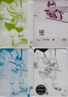 FILIPPI Tomáš CZECH Ice Hockey Team 2016 č. 6 Printing Plate SET 1/1