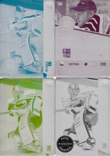 FRANCOUZ Pavel CZECH Ice Hockey Team 2016 č. 7 Printing Plate SET 1/1
