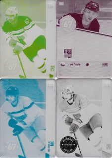 FROLÍK Michael CZECH Ice Hockey Team 2016 č. 8 Printing Plate SET 1/1