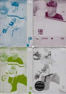 HANZAL Martin CZECH Ice Hockey Team 2016 č. 12 Printing Plate SET 1/1