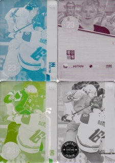 JAŠKIN Dmitrij CZECH Ice Hockey Team 2016 č. 17 Printing Plate SET 1/1