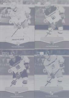 KLEPIŠ Jakub CZECH Ice Hockey Team 2015 č. 6 Printing Plate SET 1/1
