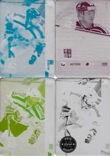 KOUKAL Petr CZECH Ice Hockey Team 2016 č. 23 Printing Plate SET 1/1