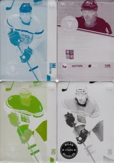 MICHÁLEK Milan CZECH Ice Hockey Team 2016 č. 30 Printing Plate SET 1/1