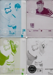 MICHÁLEK Zbyněk CZECH Ice Hockey Team 2016 č. 31 Printing Plate SET 1/1