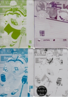 ŘEPÍK Michal CZECH Ice Hockey Team 2016 č. 43 Printing Plate SET 1/1