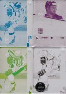 SEKÁČ Jiří CZECH Ice Hockey Team 2016 č. 44 Printing Plate SET 1/1