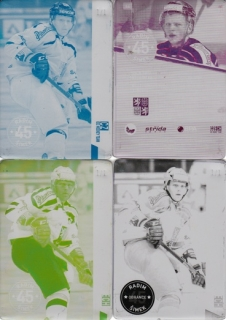 ŠIMEK Radim CZECH Ice Hockey Team 2016 č. 46 Printing Plate SET 1/1
