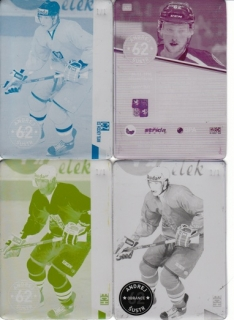 ŠUSTR Andrej CZECH Ice Hockey Team 2016 č. 47 Printing Plate SET 1/1