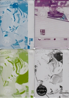 ZOHORNA Tomáš CZECH Ice Hockey Team 2016 č. 53 Printing Plate SET 1/1