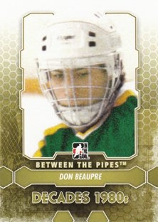 BEAUPRE Don Between the Pipes 2012/2013 č. 127