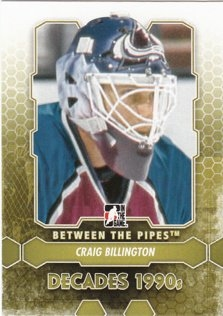 BILLINGTON Craig Between the Pipes 2012/2013 č. 104