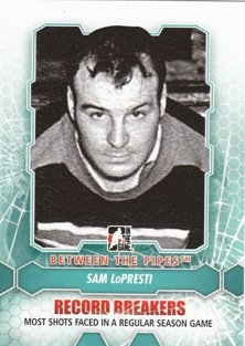 LOPRESTI Sam Between the Pipes 2012/2013 č. 188
