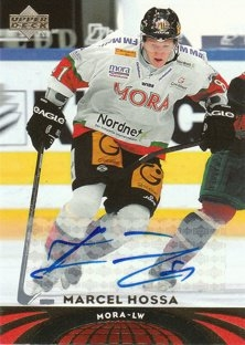 HOSSA Marcel UD All-World Edition 2004/2005 č. 70 Autograph