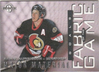 ALFREDSSON Daniel Donruss Limited 1997/1998 Fabric of the Game č. 46 /1000