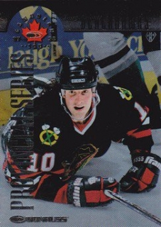 AMONTE Tony Donruss Canadian Ice 1997/1998 č. 34 Player´s Club