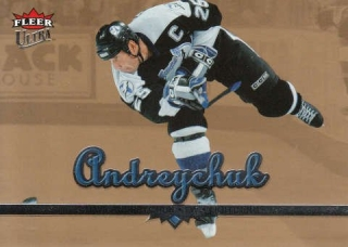 ANDREYCHUK Dave Fleer Ultra 2005/2006 Gold Medallion č. 177