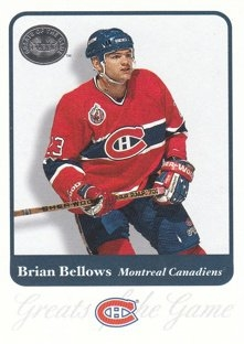 BELLOWS Brian Fleer Greats of the Game 2001/2002 č. 54