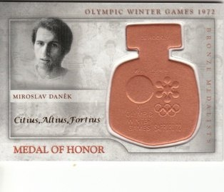 DANĚK Miroslav 1972 FAMOUS SEASON Medal of Honor /12