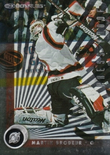 BRODEUR Martin Donruss 1997/1998 č. 126 Press Proof