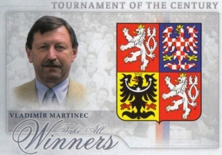 MARTINEC Vladimír OFS Classic Tournament of the Century TCZ-26 Parallel /300