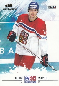 CHYTIL Filip Czech Ice Hockey Team 2018 č. 13