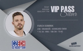 FURCH Dominik Czech Ice Hockey Team 2018 VIP Pass Silver č. 7