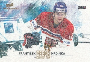 HRDINKA František Czech Ice Hockey Team 2018 č. 45 Gold Rainbow /5