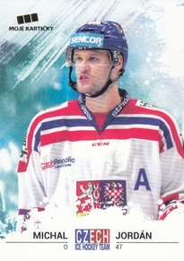 JORDÁN Michal Czech Ice Hockey Team 2018 č. 14