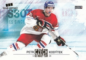 KODÝTEK Petr Czech Ice Hockey Team 2018 č. 46 Gold /25