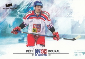 KOUKAL Petr Czech Ice Hockey Team 2018 č. 19