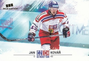KOVÁŘ Jan Czech Ice Hockey Team 2018 č. 20