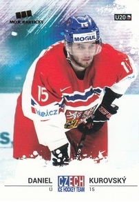 KUROVSKÝ Daniel Czech Ice Hockey Team 2018 č. 48
