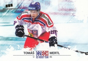 MERTL Tomáš Czech Ice Hockey Team 2018 č. 24