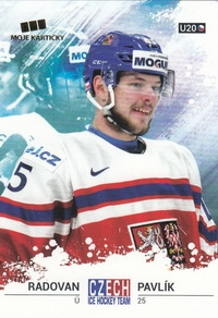 PAVLÍK Radovan Czech Ice Hockey Team 2018 č. 51