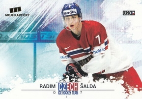 ŠALDA Radim Czech Ice Hockey Team 2018 č. 53