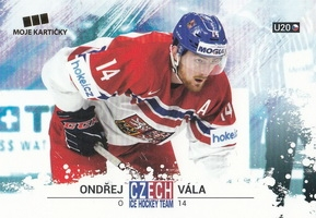 VÁLA Ondřej Czech Ice Hockey Team 2018 č. 39