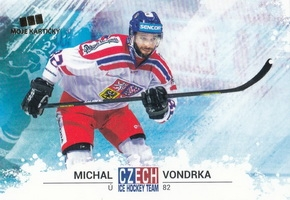 VONDRKA Michal Czech Ice Hockey Team 2018 č. 41