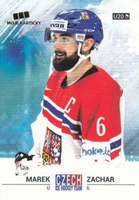 ZACHAR Marek Czech Ice Hockey Team 2018 č. 43