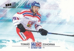 ZOHORNA Tomáš Czech Ice Hockey Team 2018 č. 44